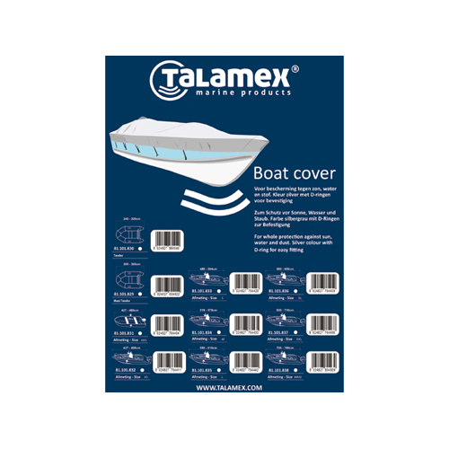 Talamex boat cover tender